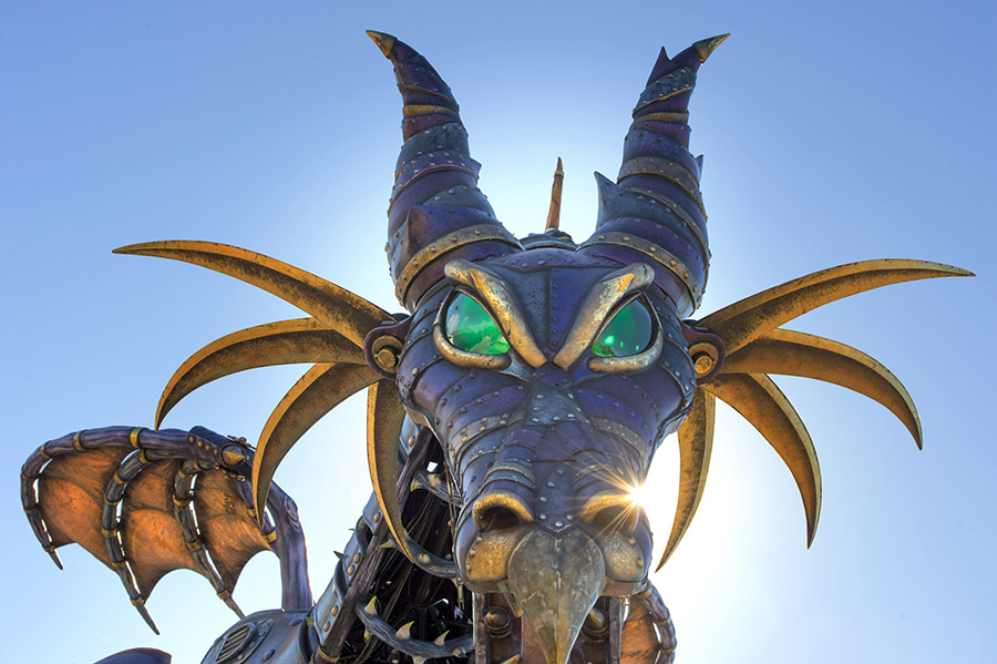 Maleficent Returns to Disney's Festival of Fantasy Parade at Walt Disney World Resort 8