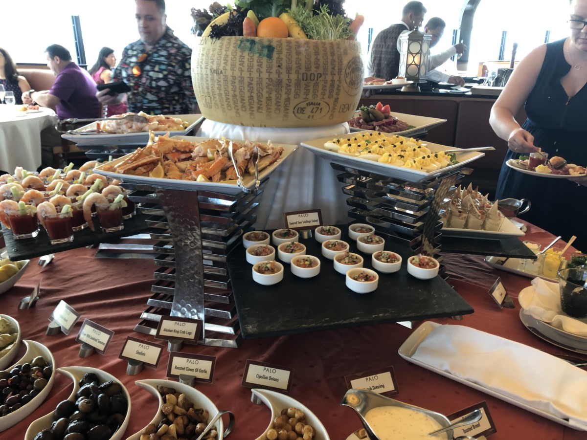 Brunch at Palo aboard the Disney Magic #DisneyCruise 8