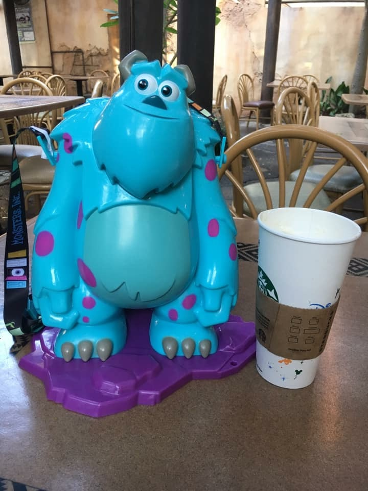 New Sulley Popcorn Buckets Spotted at Animal Kingdom Today! 1