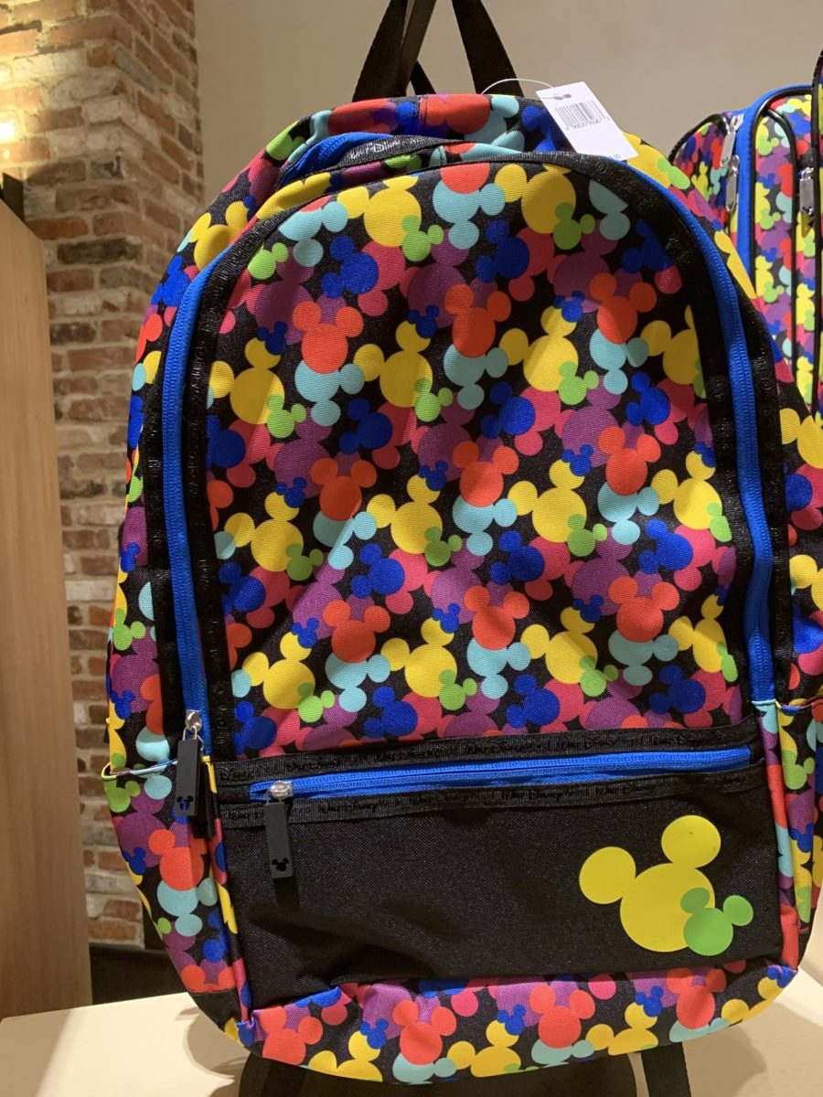 Colorful Mickey Mouse luggage out now 7