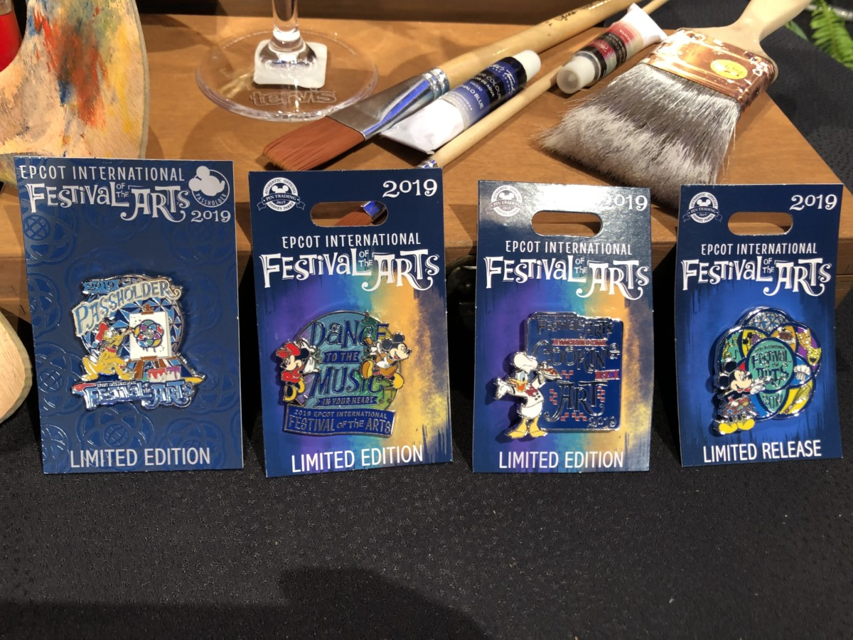 Merchandise for the 2019 Epcot International Festival of the Arts! #artfulepcot 7
