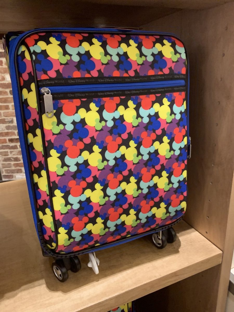 Colorful Mickey Mouse luggage out now 1