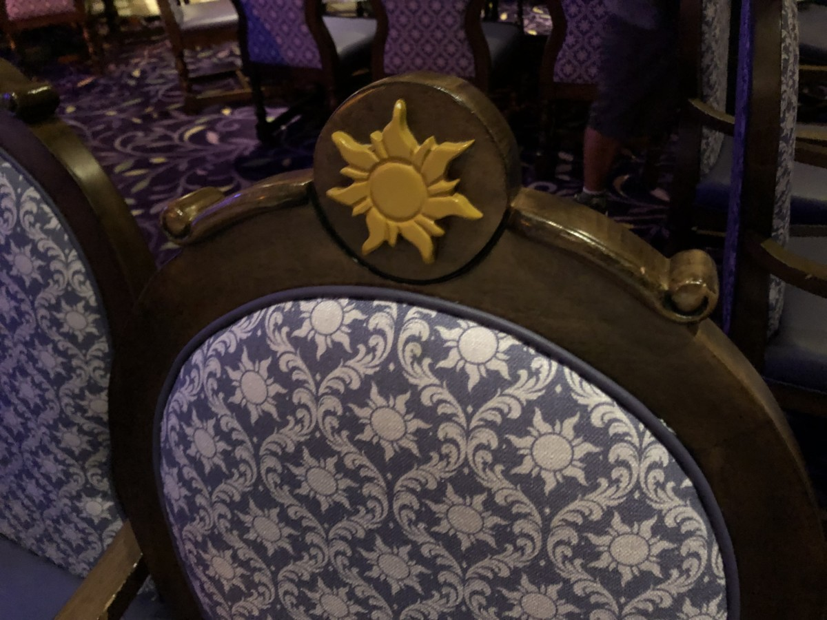 Rapunzel's Royal Table Aboard the Disney Magic! #DisneyCruise 5