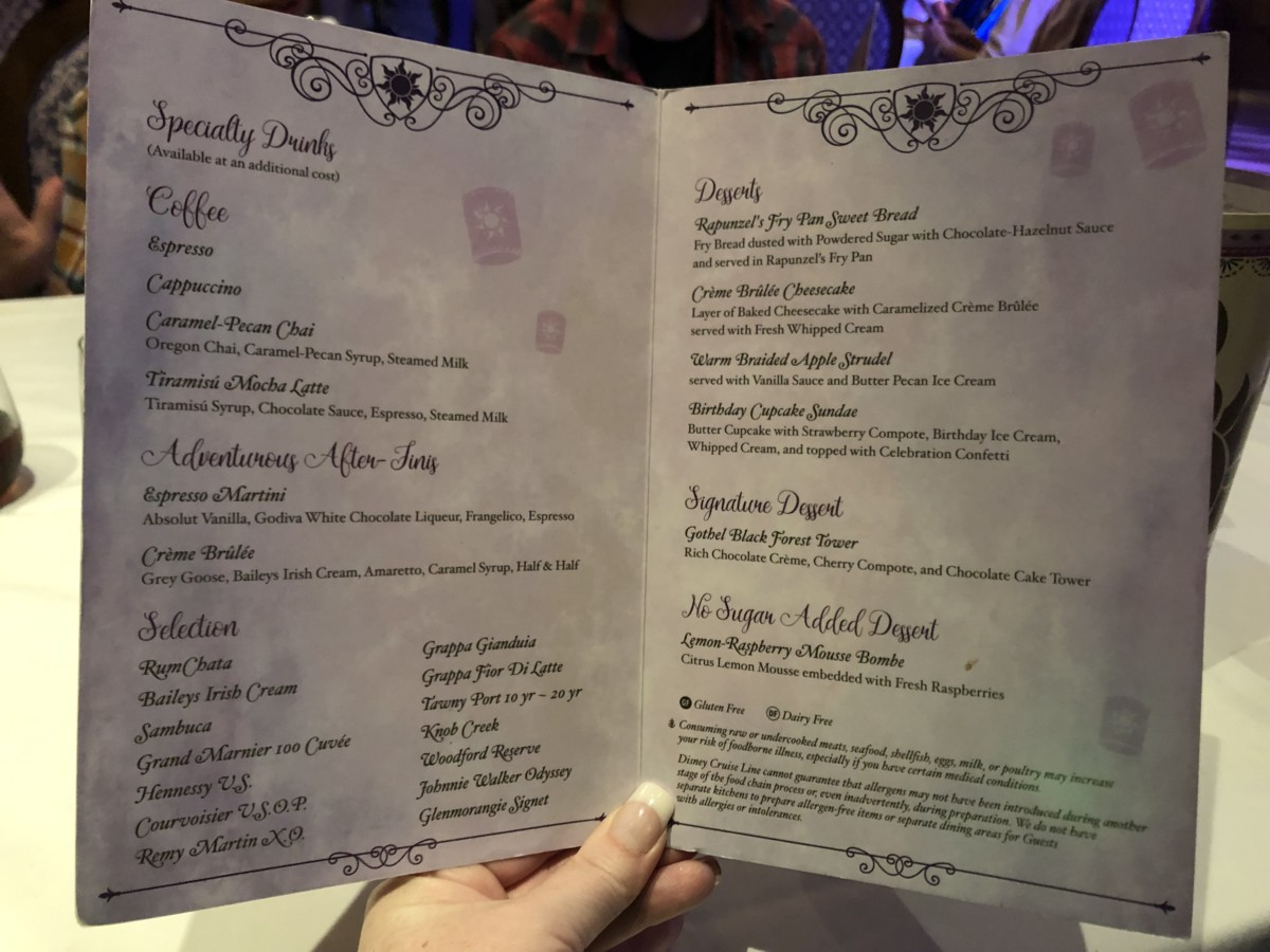 Rapunzel's Royal Table Aboard the Disney Magic! #DisneyCruise 10