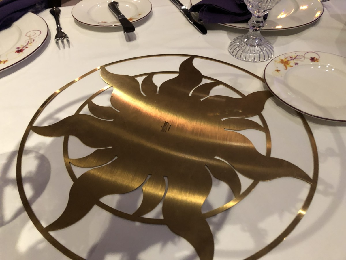 Rapunzel's Royal Table Aboard the Disney Magic! #DisneyCruise 4