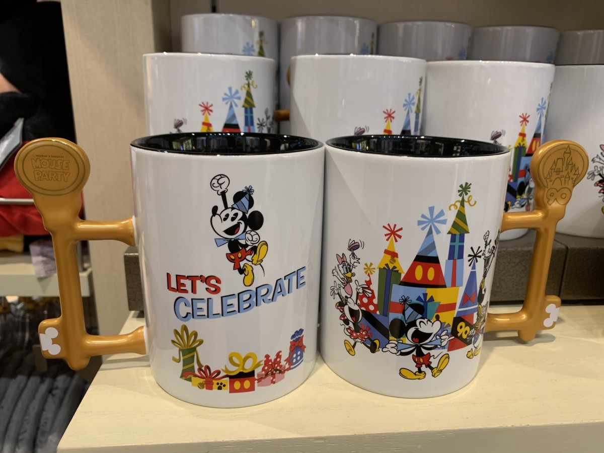 The newest Mickey's 90th merchandise out now! 3