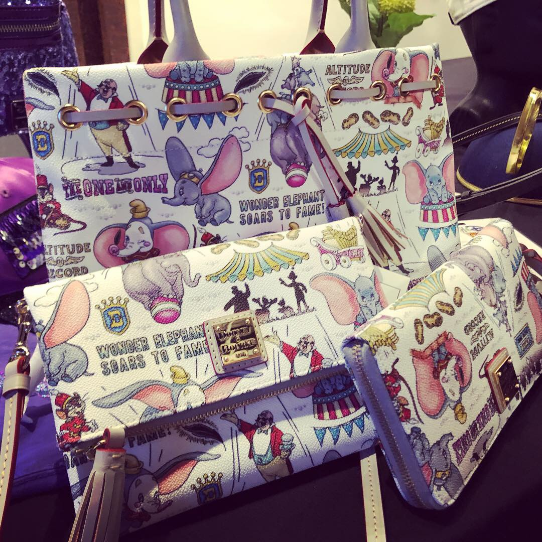 Release Date for the Dumbo Dooney & Bourke Line! #disneysprings 6