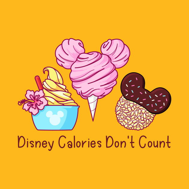 Survey Says: Calories Don't Count at Disney! 1