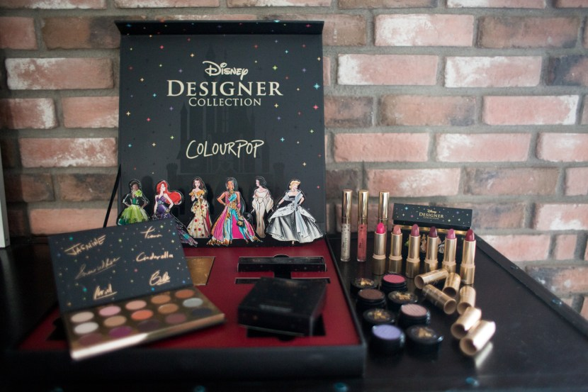 Disney Designer - Limited Edition ColourPop Collection 1