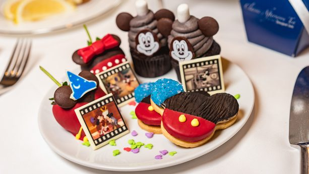 Mickey's Tea Party Celebration at Steakhouse 55 at Disneyland Hotel