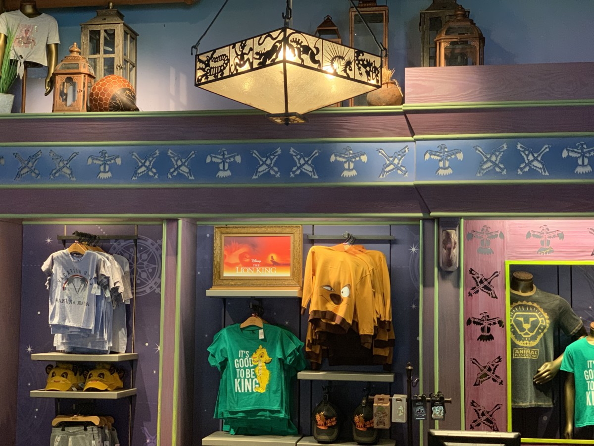 New Photo Ops and Merchandise at Animal Kingdom 7