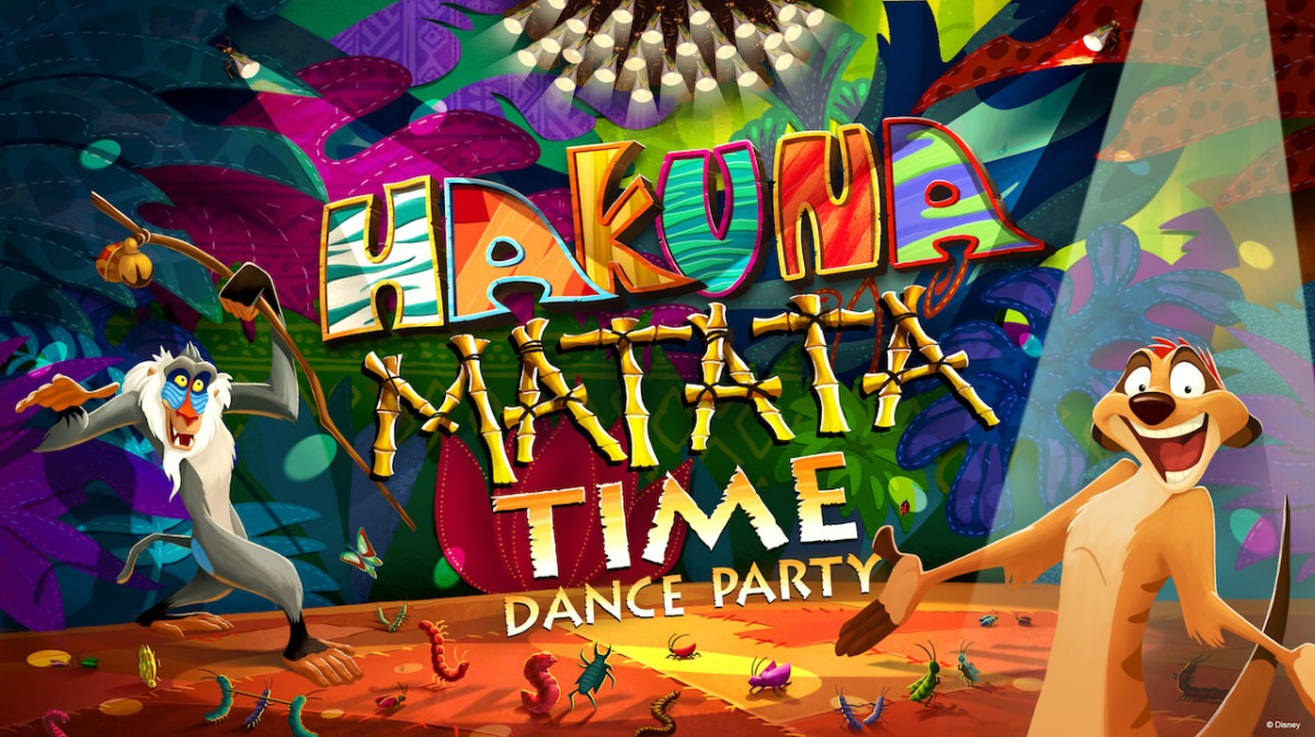 Hakuna Matata Time Dance Party at Animal Kingdom #nowmorethanever 31