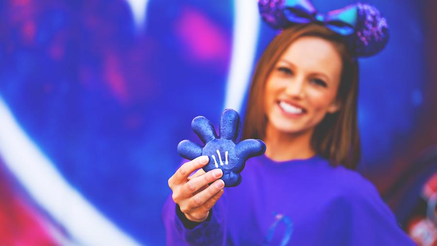 Purple Glove Macaron at Disneyland Resort
