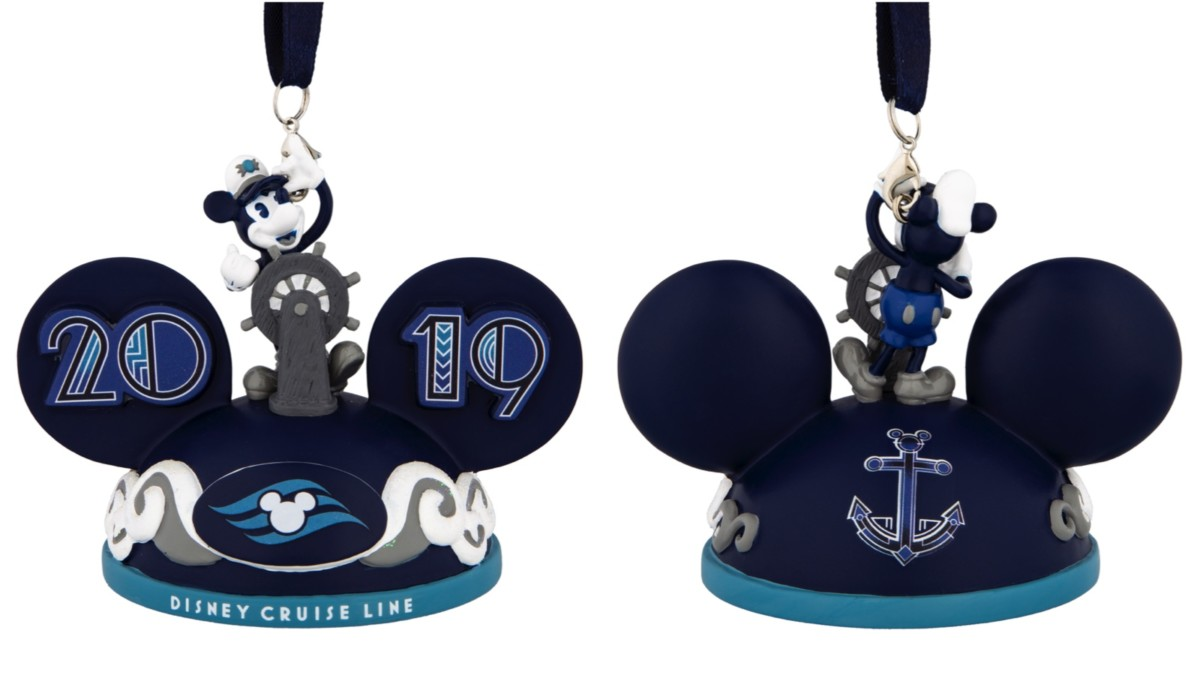 2019 Disney Cruise Line Mickey Ears Ornament