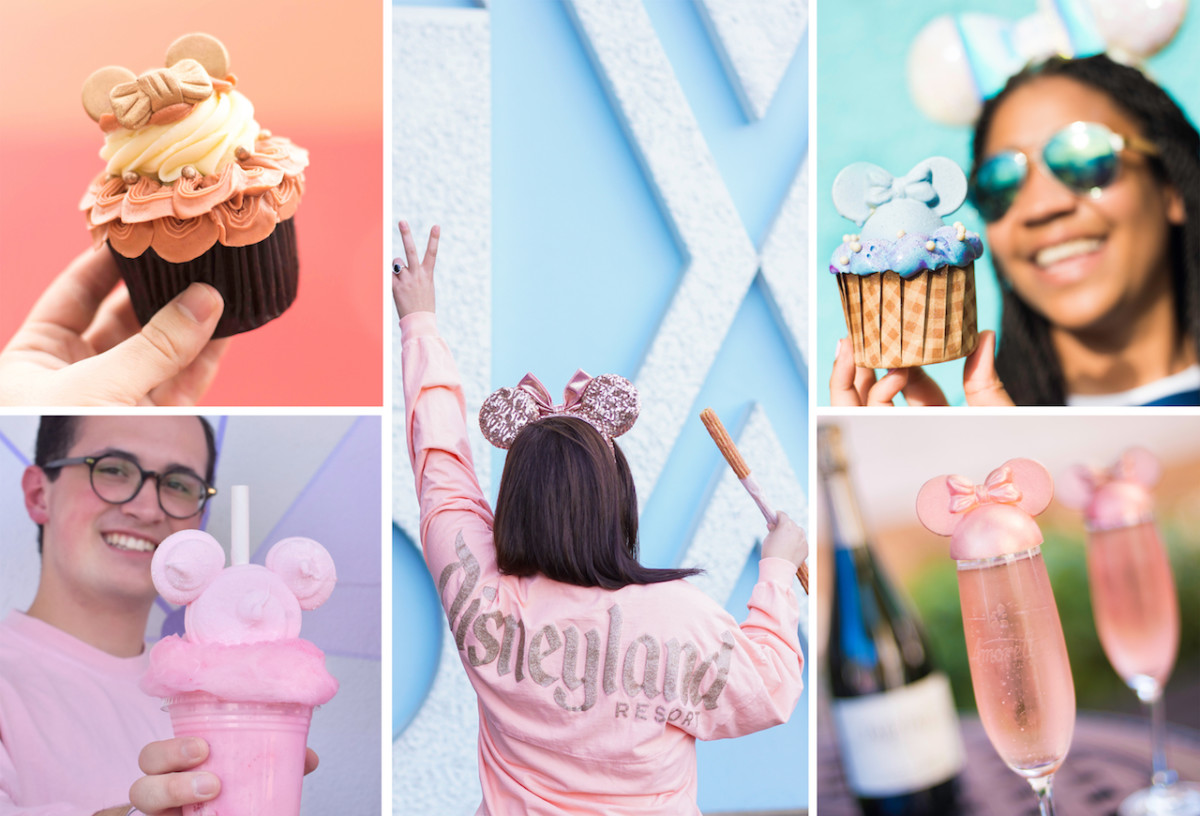 2018 Food & Merchandise Color Trends at Disney Parks