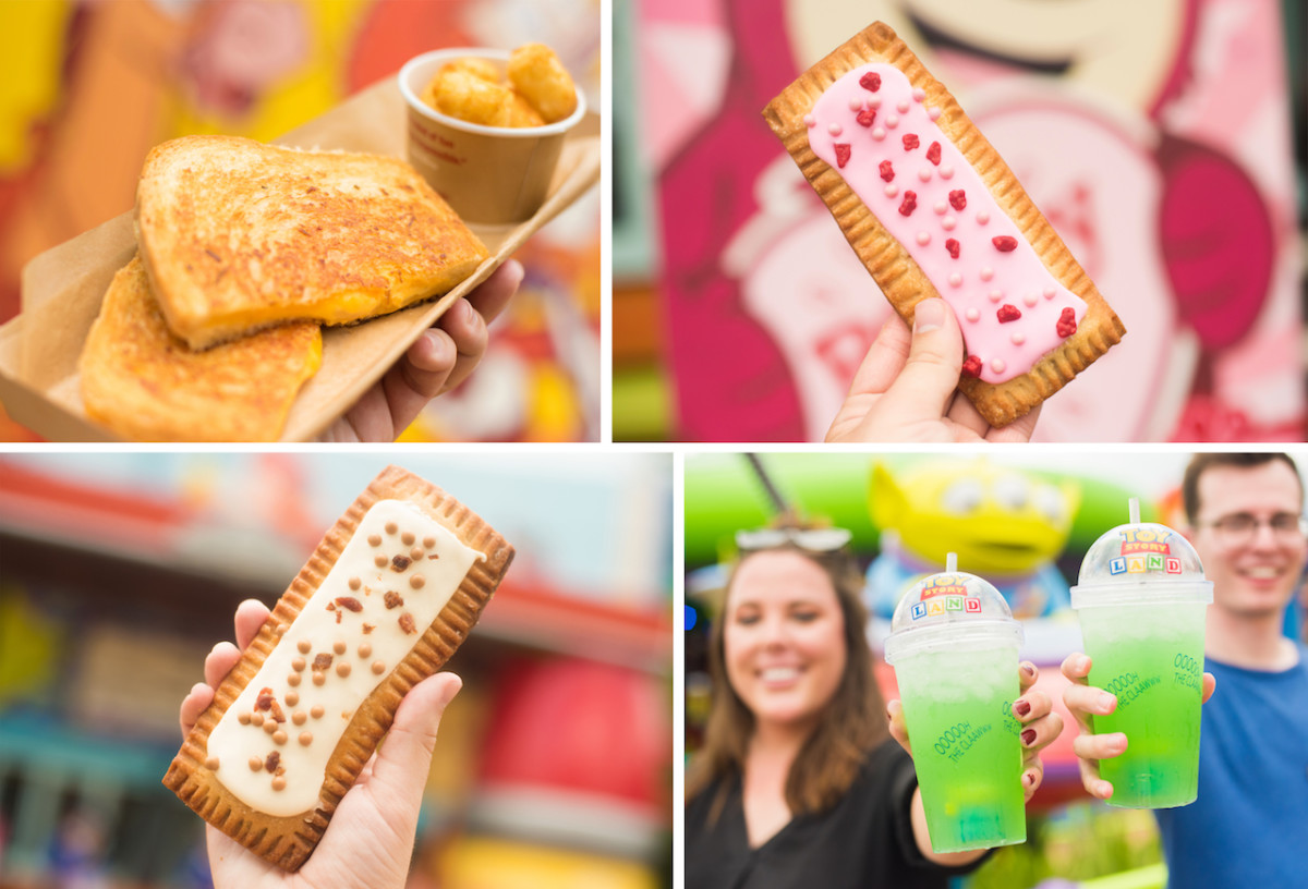 Treats from Woody's Lunch Box at Toy Story Land at Disney's Hollywood Studios
