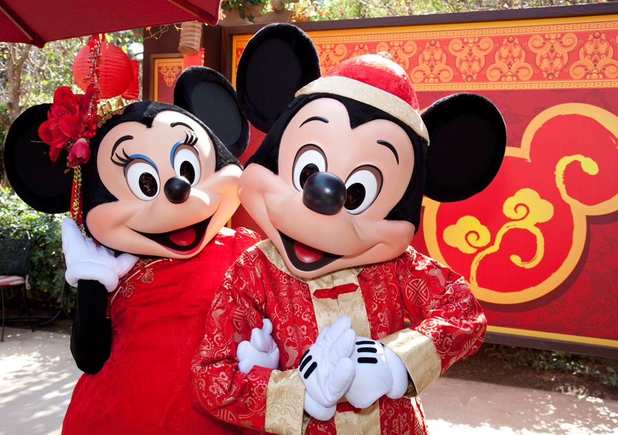 Disneyland Lunar New Year 2