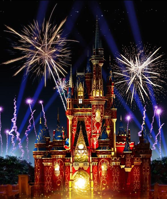 Disney Parks After Dark: 'Happily Ever After' at Magic Kingdom Park 1