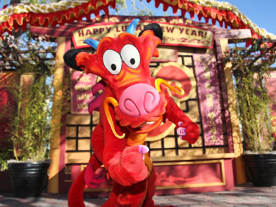 Disneyland Lunar New Year 2