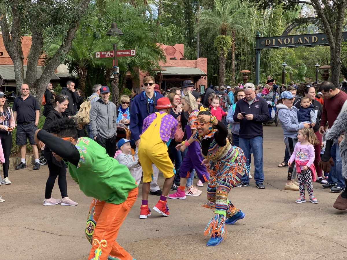 Hakuna Matata Time Dance Party at Animal Kingdom #nowmorethanever 9