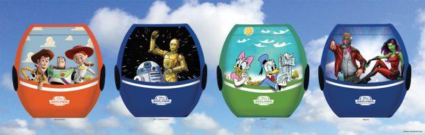 Disney Skyliner Gondolas rendering