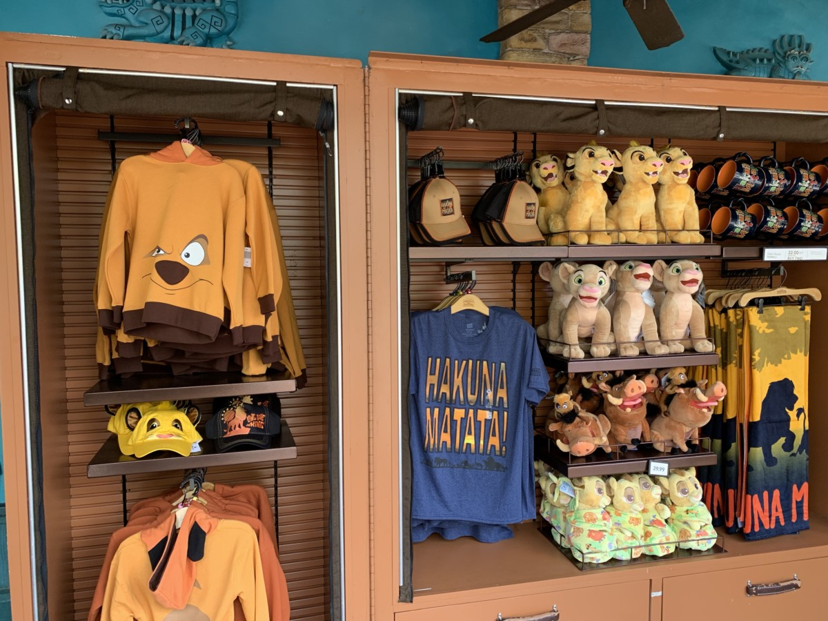 New Photo Ops and Merchandise at Animal Kingdom 10