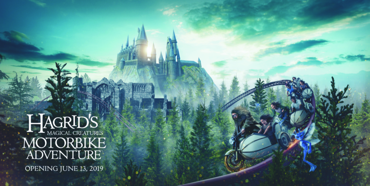 UNIVERSAL ORLANDO RESORT REVEALS NEW EXPERIENCE IN THE WIZARDING WORLD OF HARRY POTTER – HAGRID'S MAGICAL CREATURES MOTORBIKE ADVENTURE – WILL OPEN ON JUNE 13, 2019 3