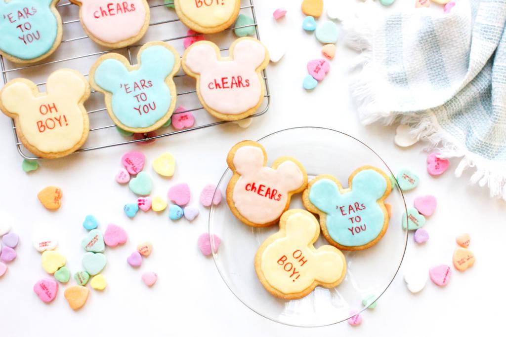 Mickey Valentine Cookies 26