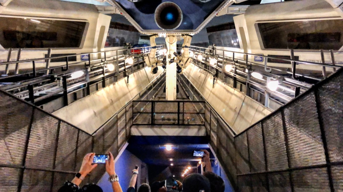 Spoiler Alert! Have You Ever Seen Space Mountain with the Lights On? (video) 1
