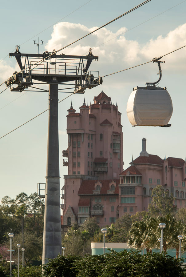 Disney Skyliner Gondolas Make First Test Runs Between Disney's Caribbean Beach Resort, Disney's Hollywood Studios 27