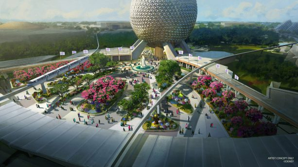 First-of-its-Kind Play Pavilion, New Park Entrance Part of Epcot's Historic Transformation 1