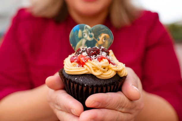Valentine's Day Cupcake from Fountain View at Epcot