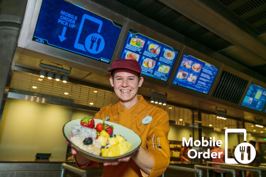 Mobile Ordering at Disney's Animal Kingdom
