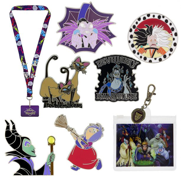 Villaintine's Day pins