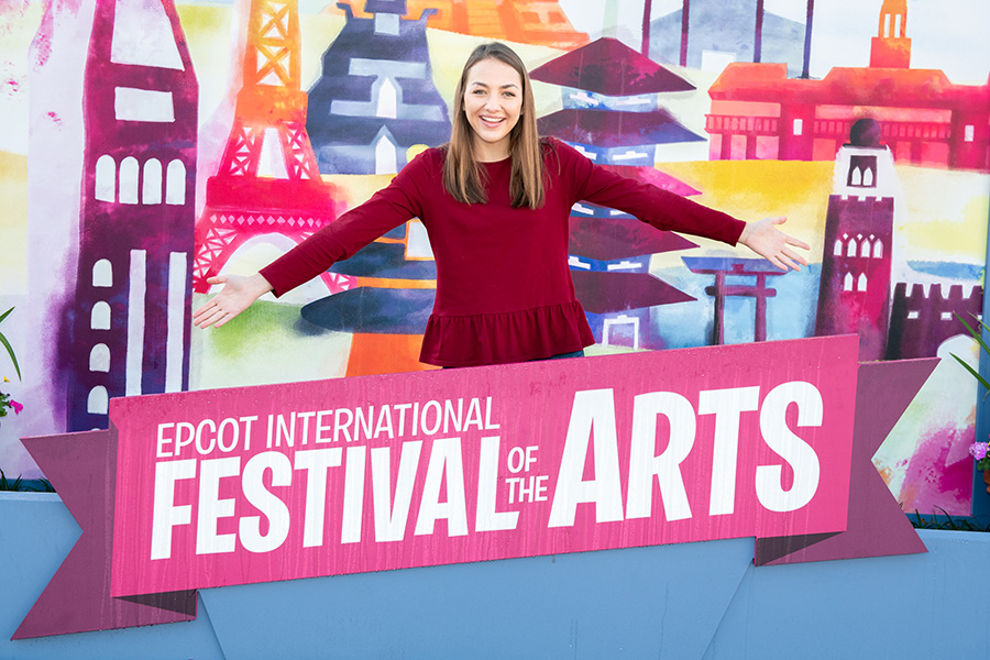 Epcot International Festival of the Arts photo opps - 7
