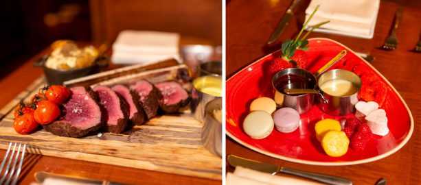 Valentine's Day Offerings from Le Cellier Steakhouse at Epcot