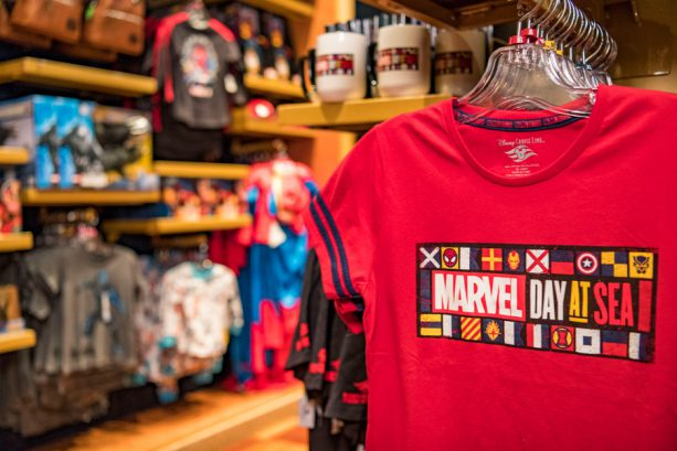 Inside Look: Exclusive Merchandise for Marvel Day at Sea 3