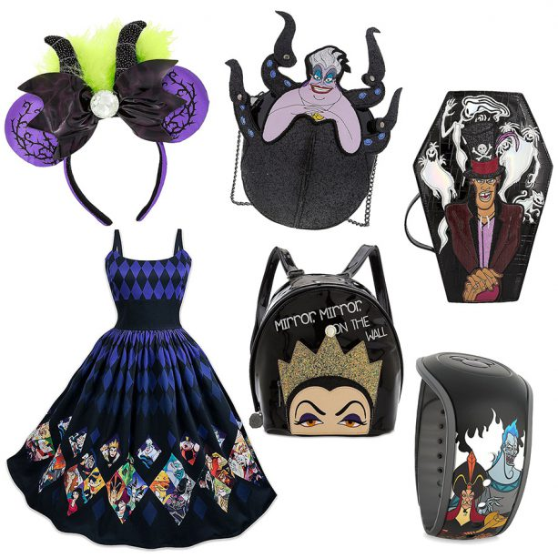 Villaintine's Day accessories, available at Disney Parks