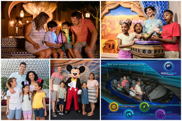 PhotoPass collage, Walt Disney World Resort