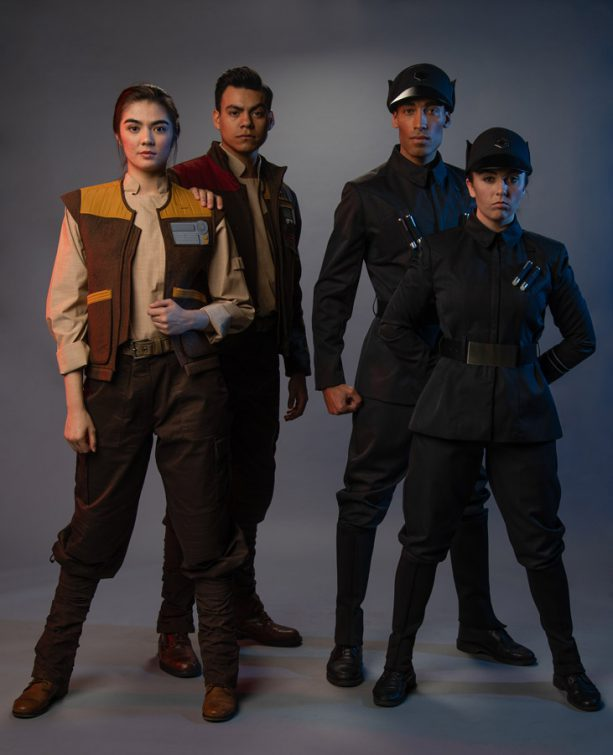 Building Batuu: Cast Members Suit Up for Work in Black Spire Outpost 8