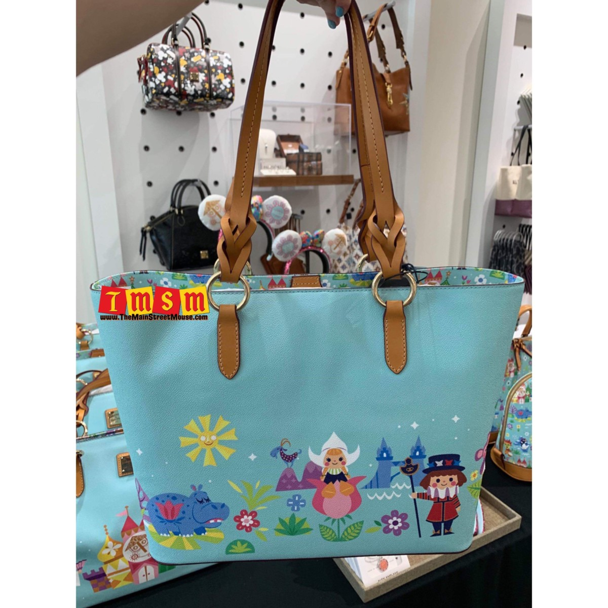 It's a small world after all with this new Dooney and Bourke collection 2