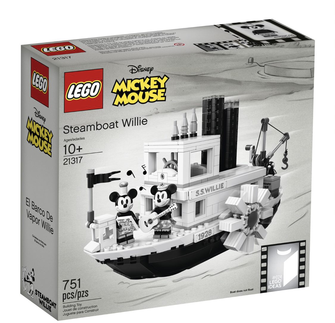 LEGO Steamboat Willie Set Reveal! Details Below! 1