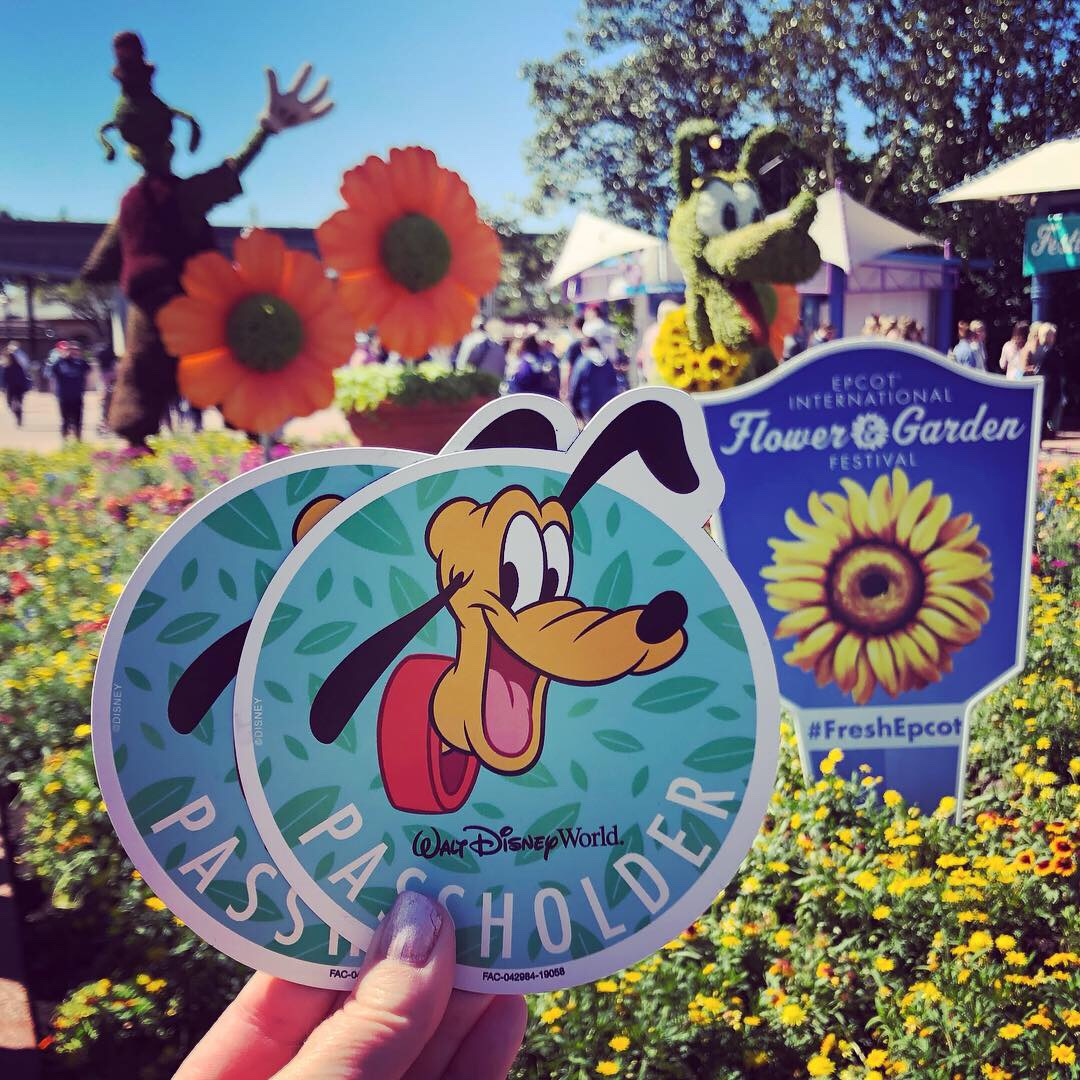 Photos from Opening Day of the Epcot International Flower and Garden Festival 2019! #FreshEpcot 12