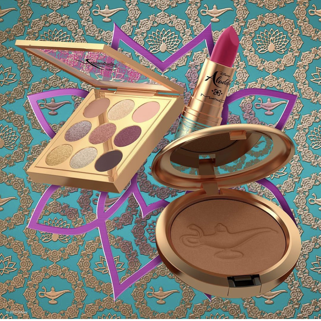 The Disney Aladdin Collection by MAC Cosmetics is Coming! #DisneyStyle 44