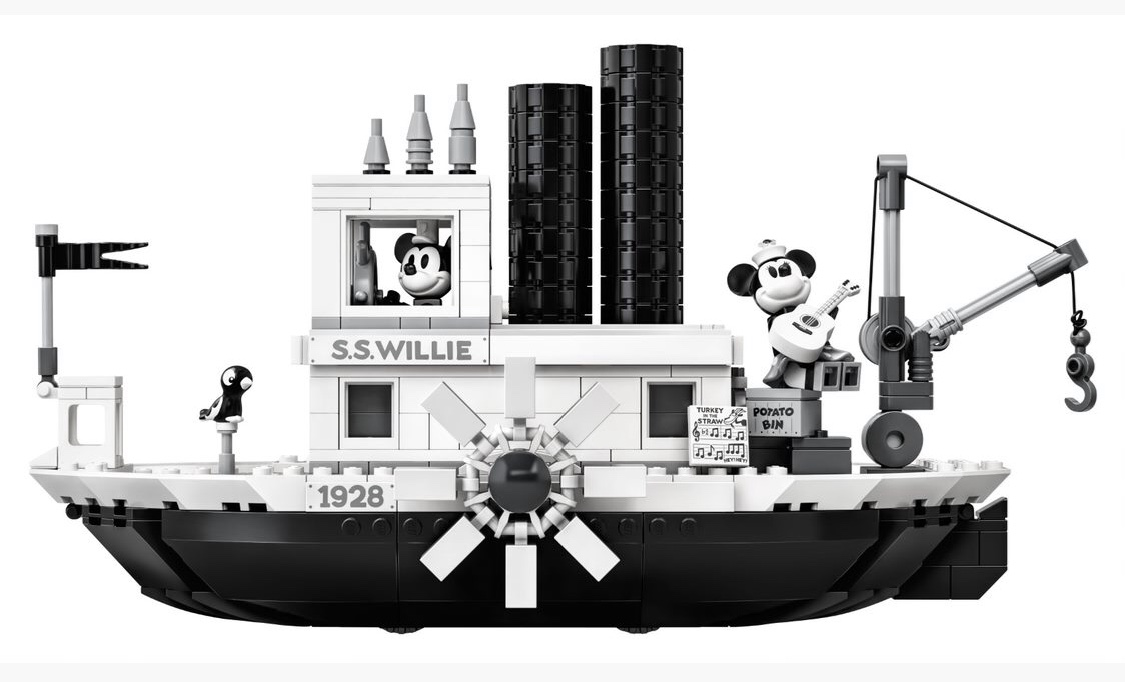 LEGO Steamboat Willie Set Reveal! Details Below! 5