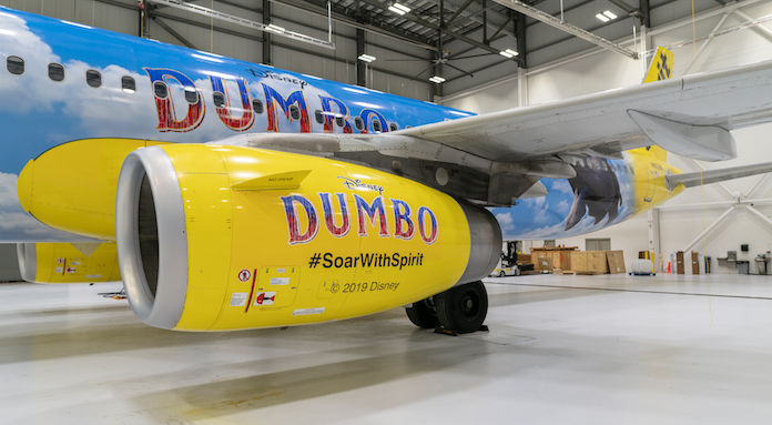 "Live-Action ""Dumbo"" to Soar with Spirit Airlines 1"