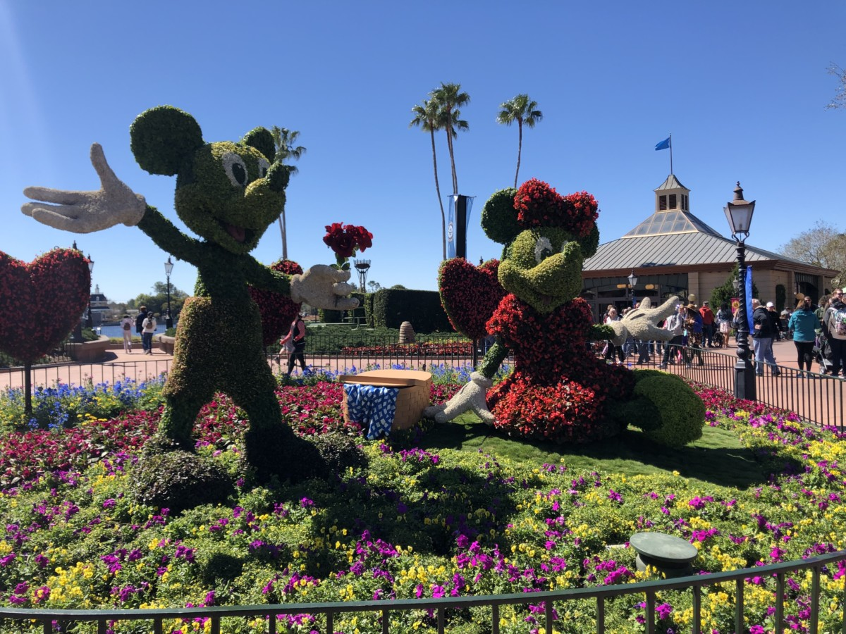 Photos from Opening Day of the Epcot International Flower and Garden Festival 2019! #FreshEpcot 1