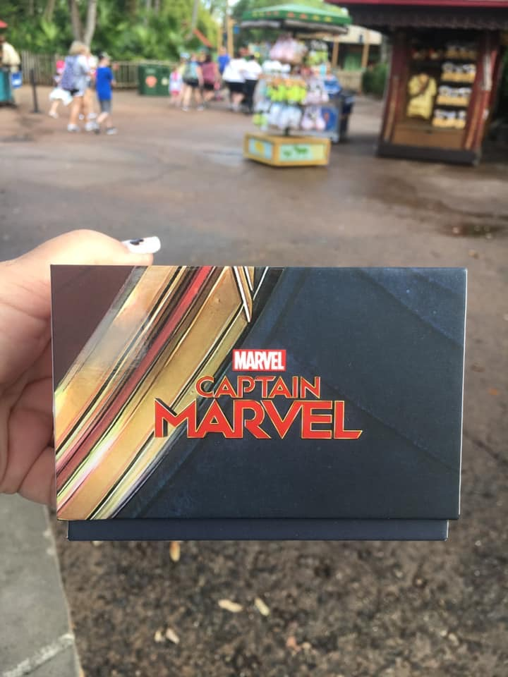 New Captain Marvel MagicBand! #captainmarvel 3