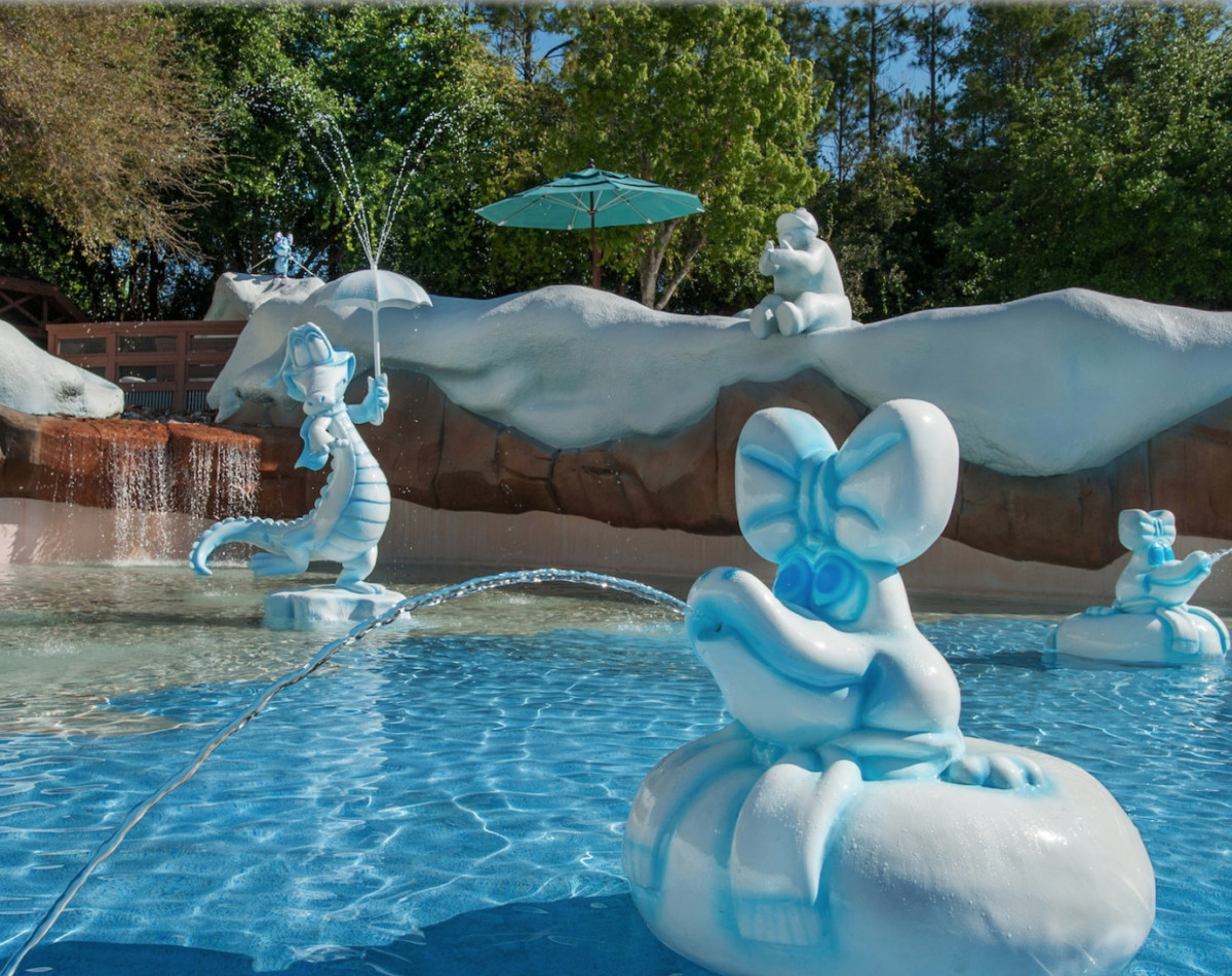 Cooling Off at Blizzard Beach 8