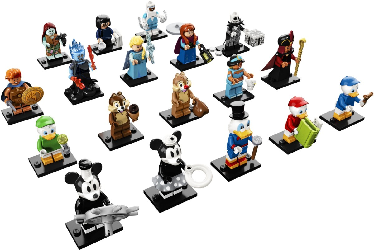 Breaking LEGO News! Disney Minifigures Series 2 Released 4